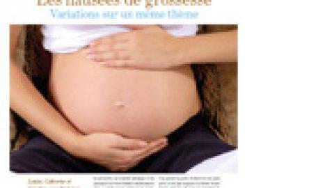 Les nausées de grossesse